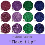 Flake It Up (12 colors):Hybrid Glitter Assortment