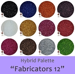 Fabricators Twelve (12 colors) :Hybrid Glitter Assortment