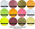 Calling The Dawn (12 colors) :Liberated Glitter Assortment