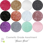 Gamer Grrrl (12 colors for skin) :COSMETIC Liberated Glitter Assortment