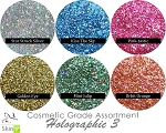 Holographic III (6 colors) :COSMETIC Mia Familia Glitter Assortment