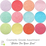 New Glitter For The Soul (12 colors for skin) :COSMETIC Liberated Glitter Assortment