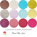 New Read My Lips (12 colors for lips) :COSMETIC Liberated Glitter Assortment