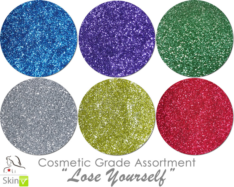 Lose Yourself (6 colors for skin) :COSMETIC Mia Familia Glitter Asst