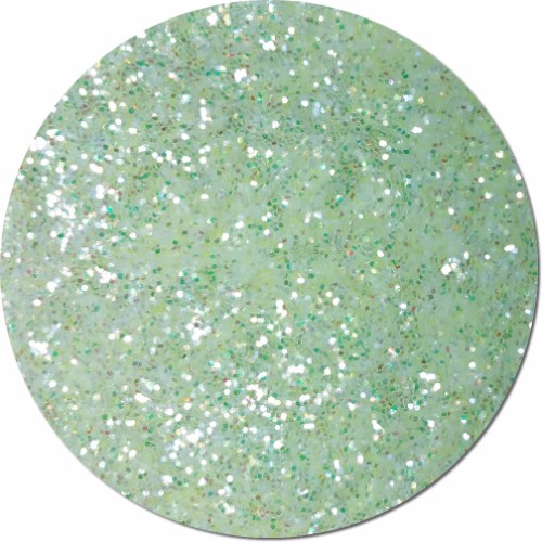 Absinthe Iridescent Craft Glitter (chunky flake)- 4 oz. Jar