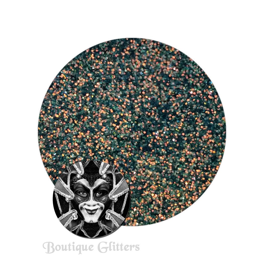 Ancestral Green :Boutique Cosmetic Carnivale Iridescent Glitter
