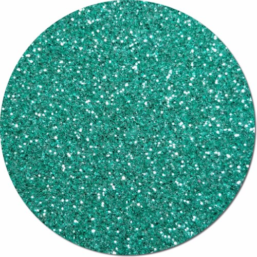 Aquamarine Craft Glitter (fine flake)- 3/4 oz Jar