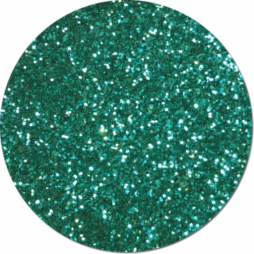 Aquamarine Craft Glitter (chunky flake)- 3/4 oz Jar