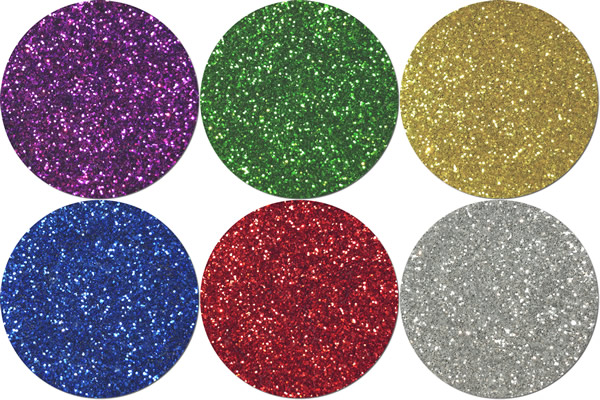 Basics Please! Craft Glitter Assortment (6 colors)
