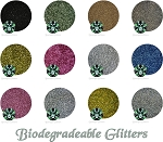 Z- Biodegradable Glitter Assortment: (12 colors)