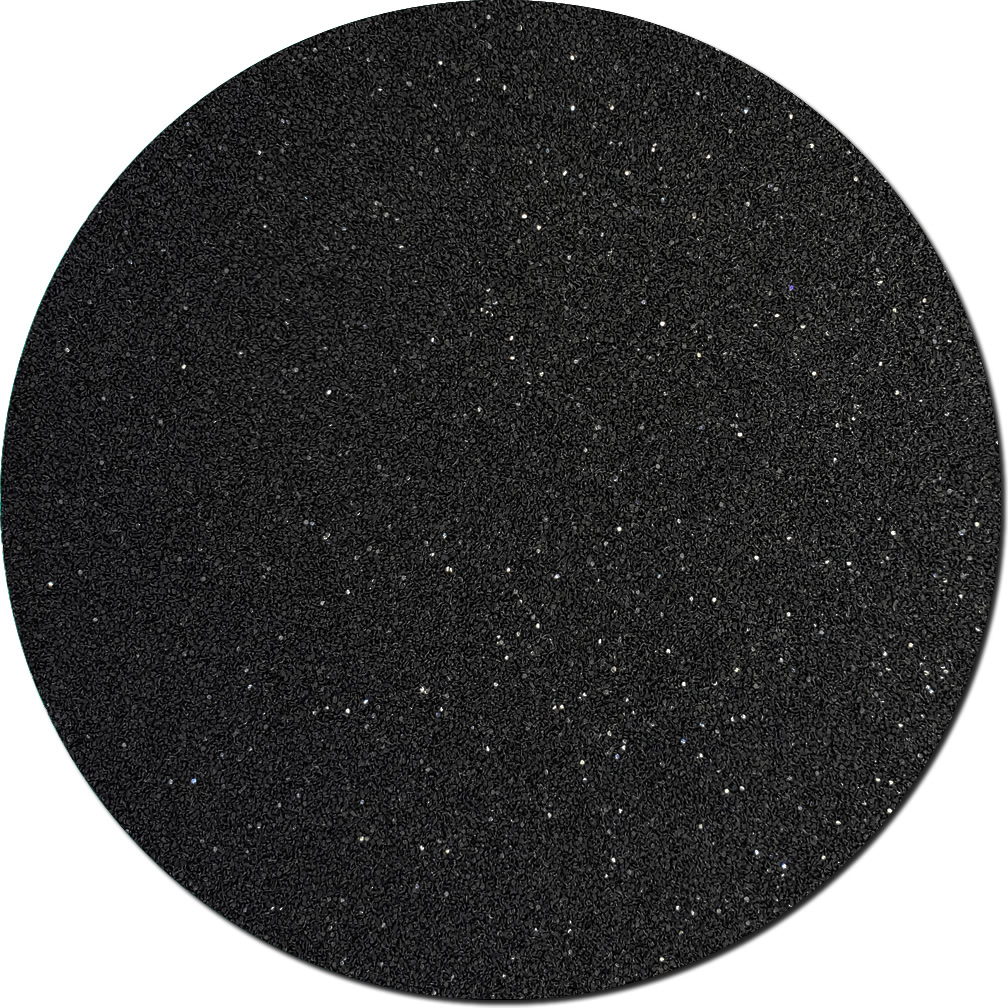 Black Shadow Craft Glitter (fine flake)- 3/4 oz Jar