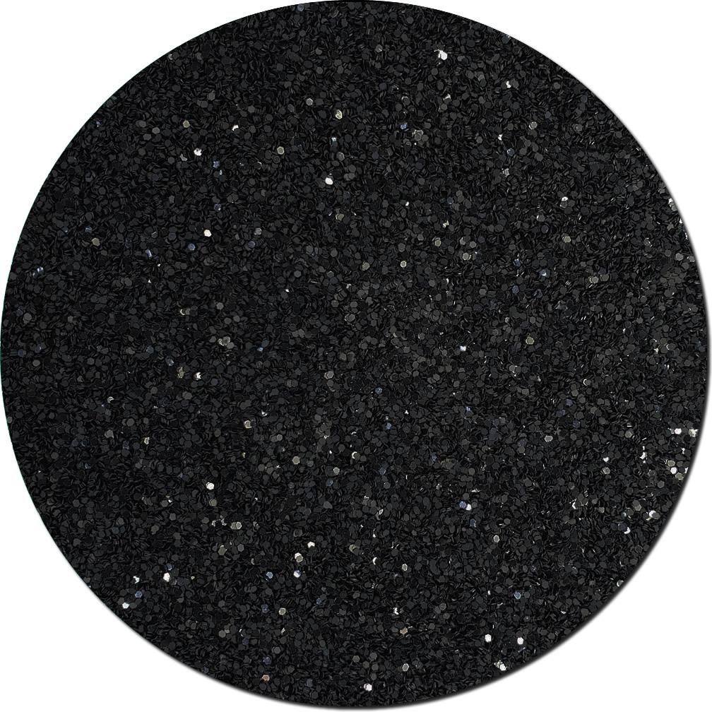 Black Shadow Craft Glitter (chunky flake)- 10lb Boxed