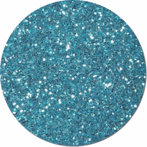 Blue Dazzle Craft Glitter (chunky flake)- 4 oz. Jar