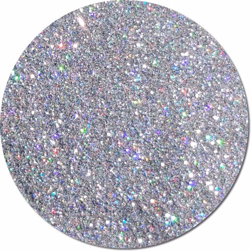 Centauri Silver :Polyester Glitter Holographic (boxed)