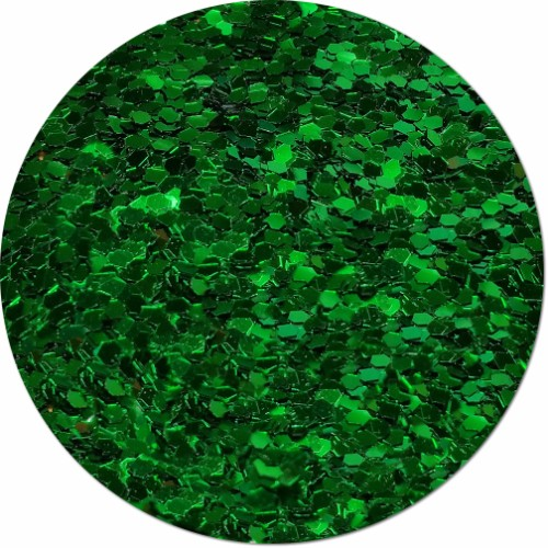 Oz's Emerald City Craft Glitter (colossal flake)- 3/4 oz Jar