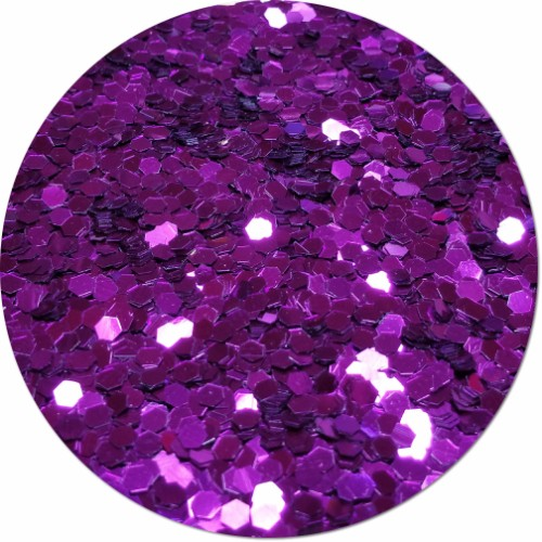 Purple Perfection Craft Glitter (colossal flake)- 8 oz. Jar