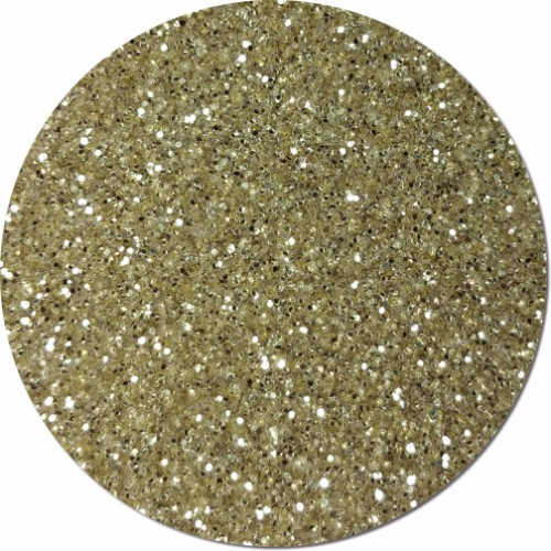 Champagne Craft Glitter (fine flake)- 3/4 oz Jar