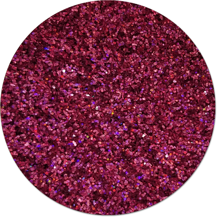 Crazy Horse Pink :Ultra Fine Glitter Holographic (bulk)