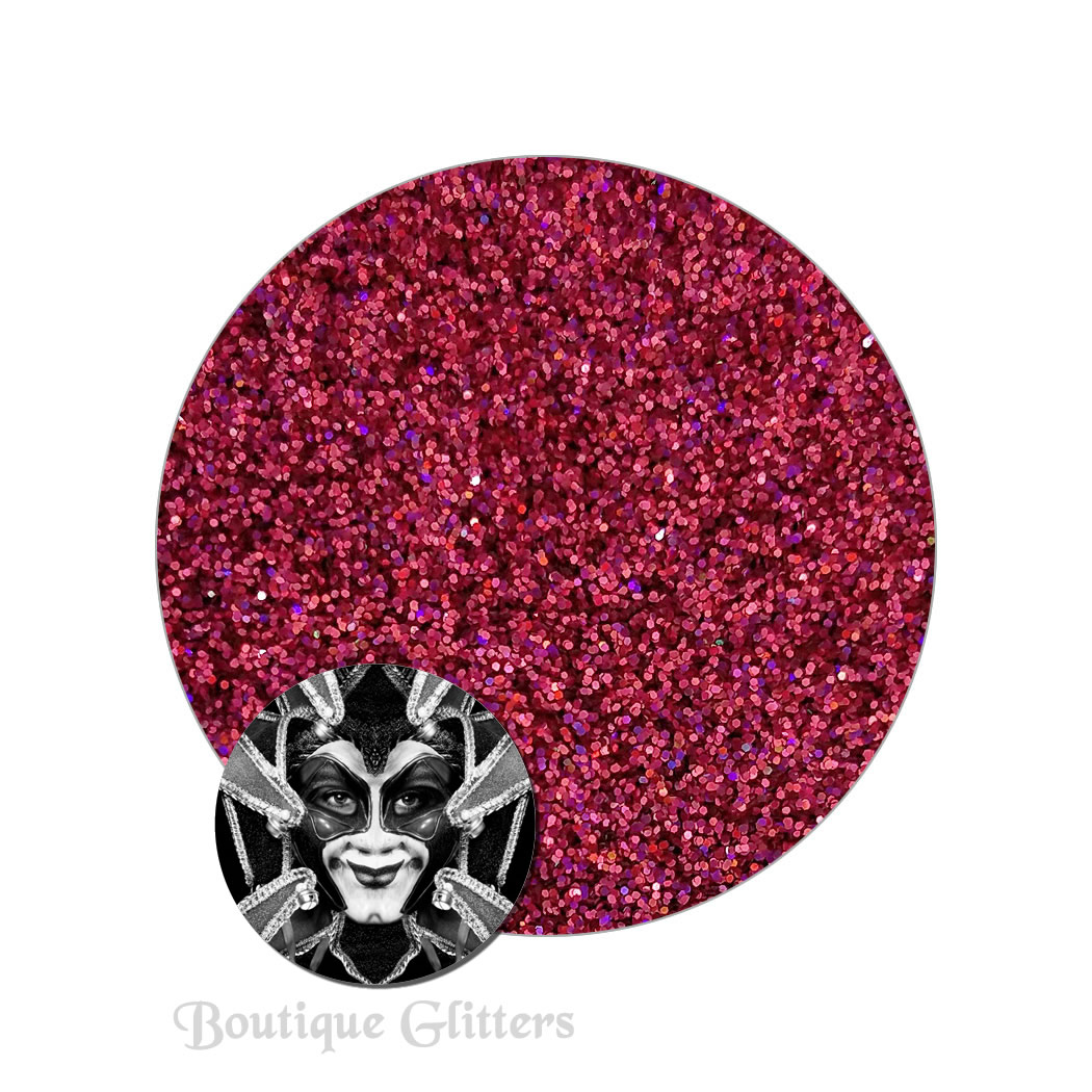 Crimson Equinox :Boutique Cosmetic Eclipse Holographic Glitter (ultra fine)