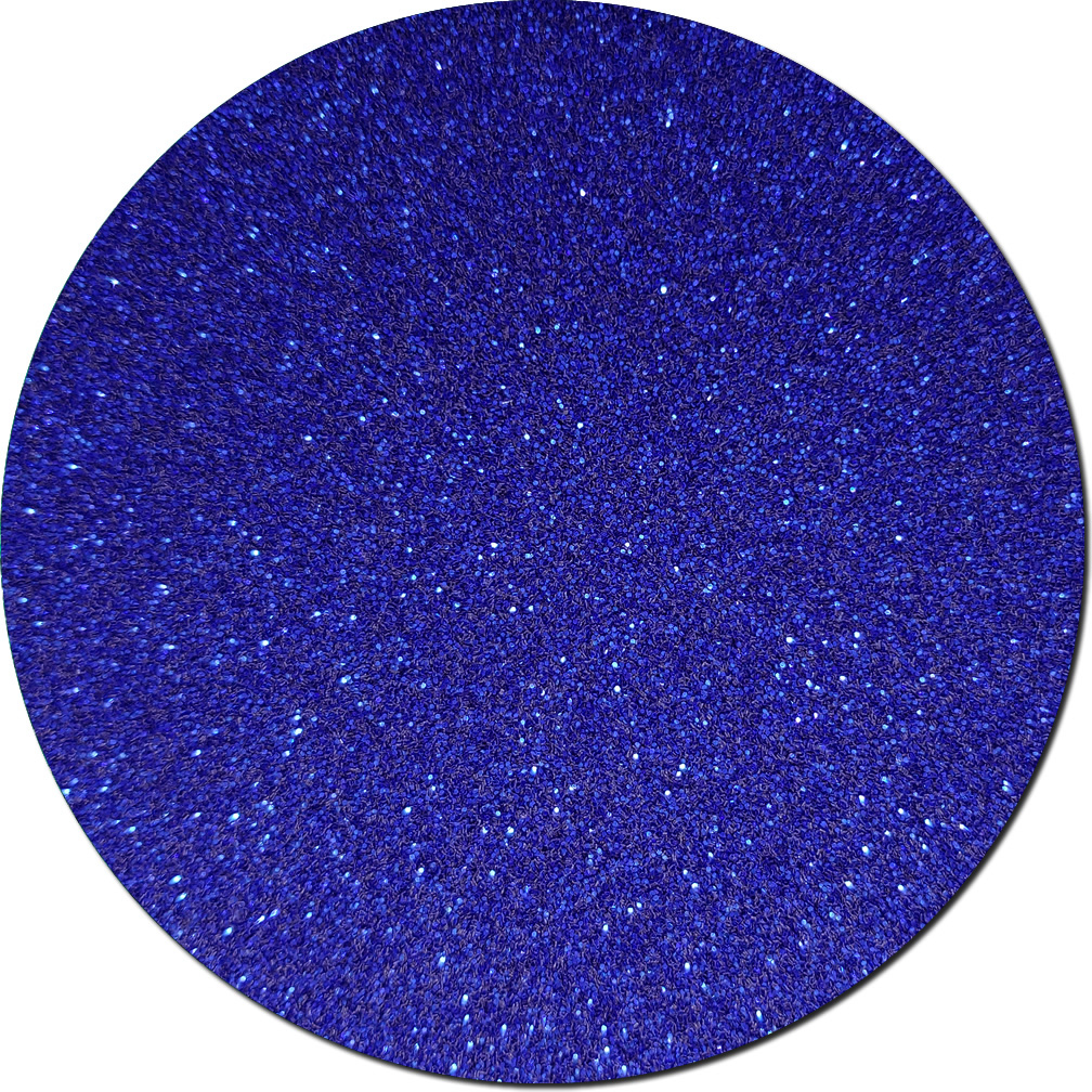 Crystalline Cobalt Craft Glitter (fine flake)- 3/4 oz Jar