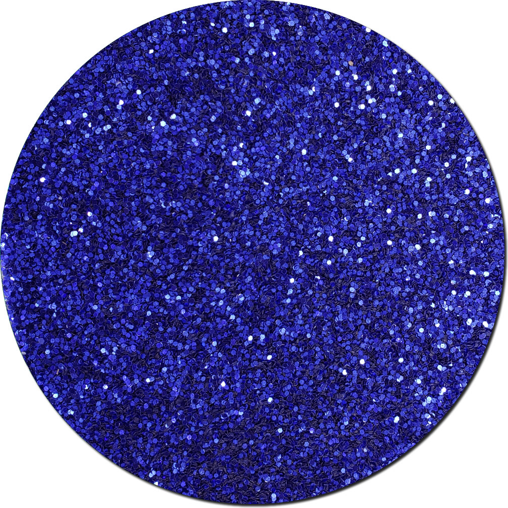 Crystalline Cobalt Craft Glitter (chunky flake)- 25lb Boxed