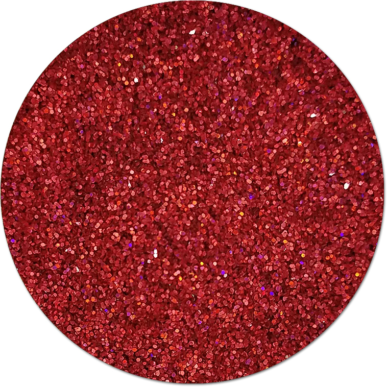 Ensign Red :Ultra Fine Glitter Holographic (bulk)