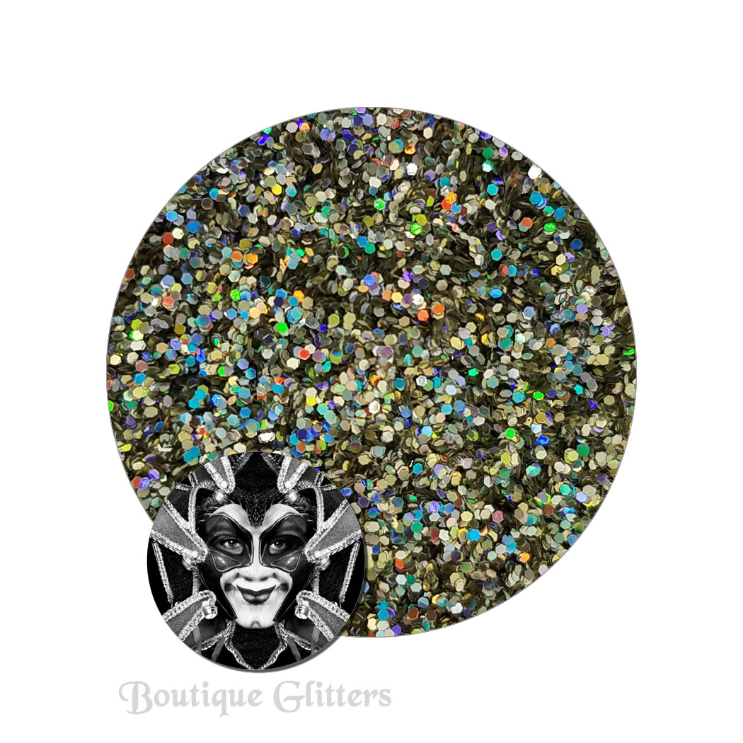 Beyond The Stars :Boutique Cosmetic Eclipse Holographic Glitter (fine)