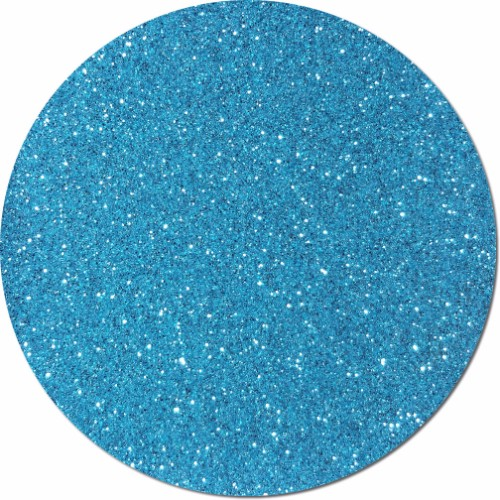 Blue Dazzle Craft Glitter (fine flake)- 3/4 oz Jar