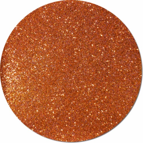 Carrot Orange Craft Glitter (fine flake)- 4 oz. Jar