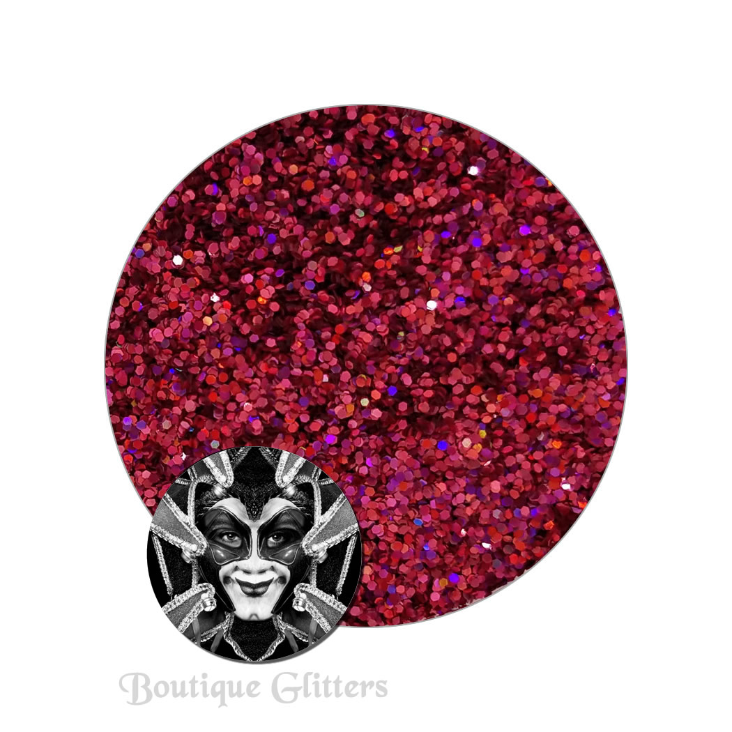 Crimson Equinox :Boutique Cosmetic Eclipse Holographic Glitter (fine)
