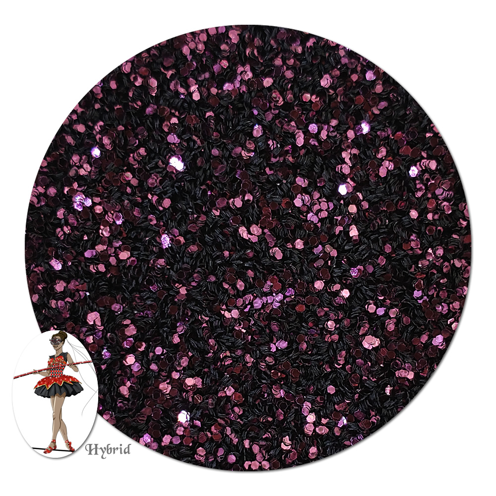 Crimson Moon Metallic Hybrid Glitter (fine)- 3/4 oz Jar