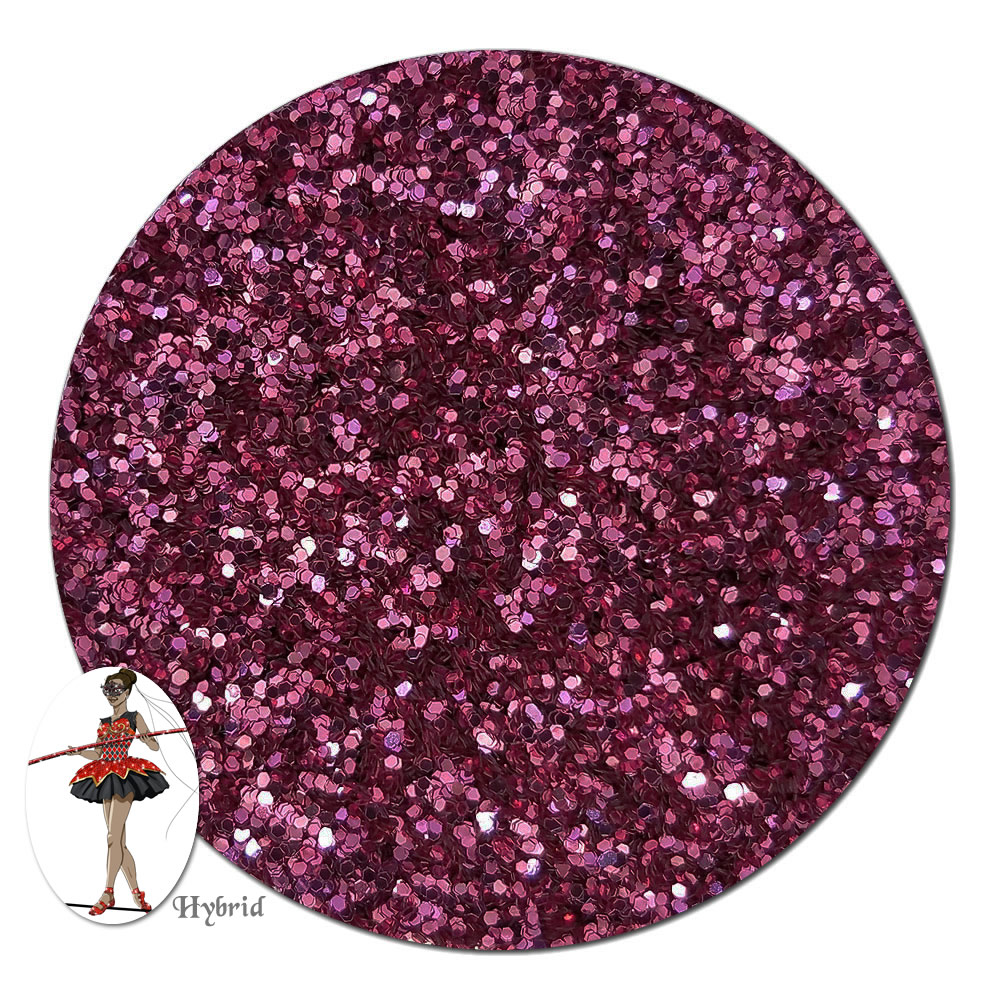 Passion Pink Metallic Hybrid Glitter (fine)- 3/4 oz Jar