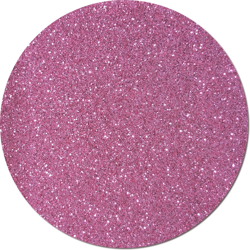 NEW Perfect Pink Craft Glitter (fine flake)- 3/4 oz Jar