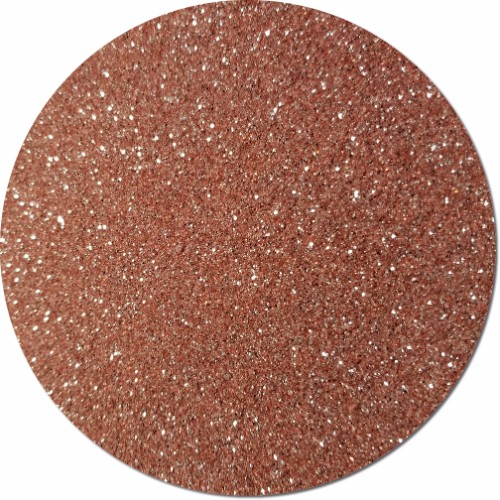 A Rose Gold Craft Glitter (fine flake)- 4 oz. Jar