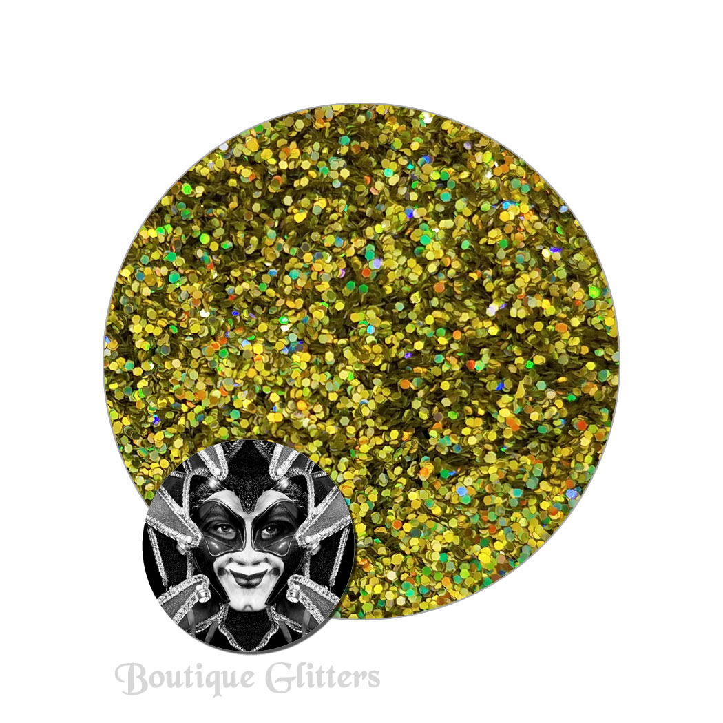 Thunderbolt :Boutique Cosmetic Eclipse Holographic Glitter (fine)