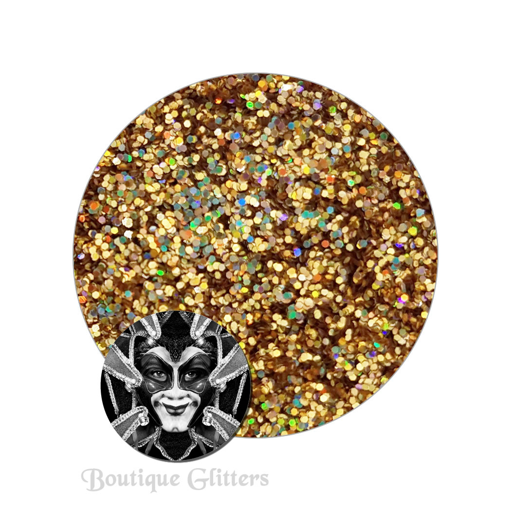Tricksters Gaze :Boutique Cosmetic Eclipse Holographic Glitter (fine)