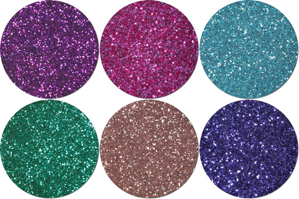 Fairy Castles Craft Glitter Assortment (6 colors)