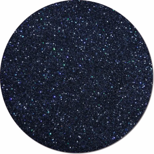 Black Dragon Iridescent Craft Glitter (fine flake)- 3/4 oz Jar