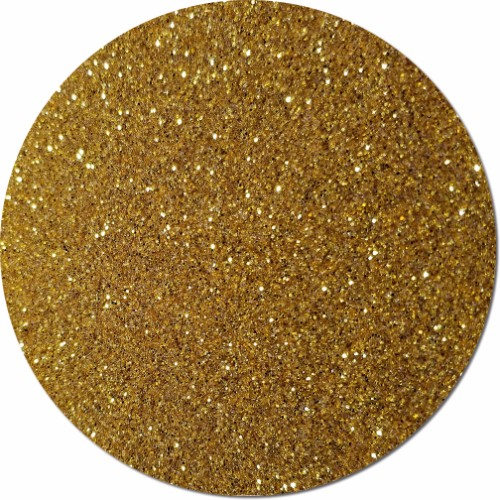 Tarnished Gold Craft Glitter (fine flake)- 3/4 oz Jar