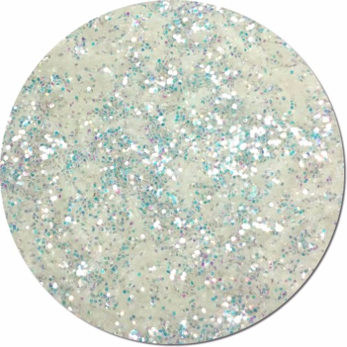 Ghost Iridescent Craft Glitter (chunky flake)- 4 oz. Jar