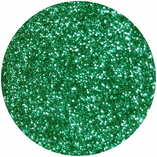 Glamour Green :Ultra Fine Glitter Cosmetic Metallic (jar)