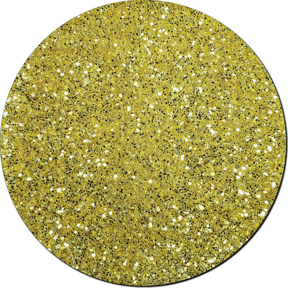 Gold Bullion Craft Glitter (chunky flake)- 3/4 oz Jar