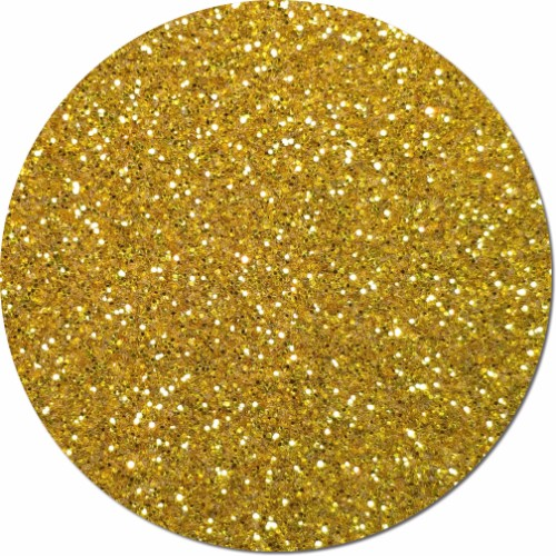 Gold Rush Craft Glitter (fine flake)- 3/4 oz Jar