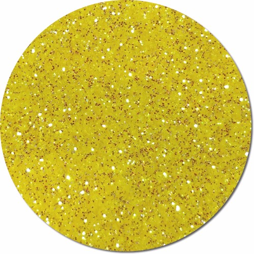 Golden Sun Yellow :Ultra Fine Glitter Cosmetic Iridescent (jar)