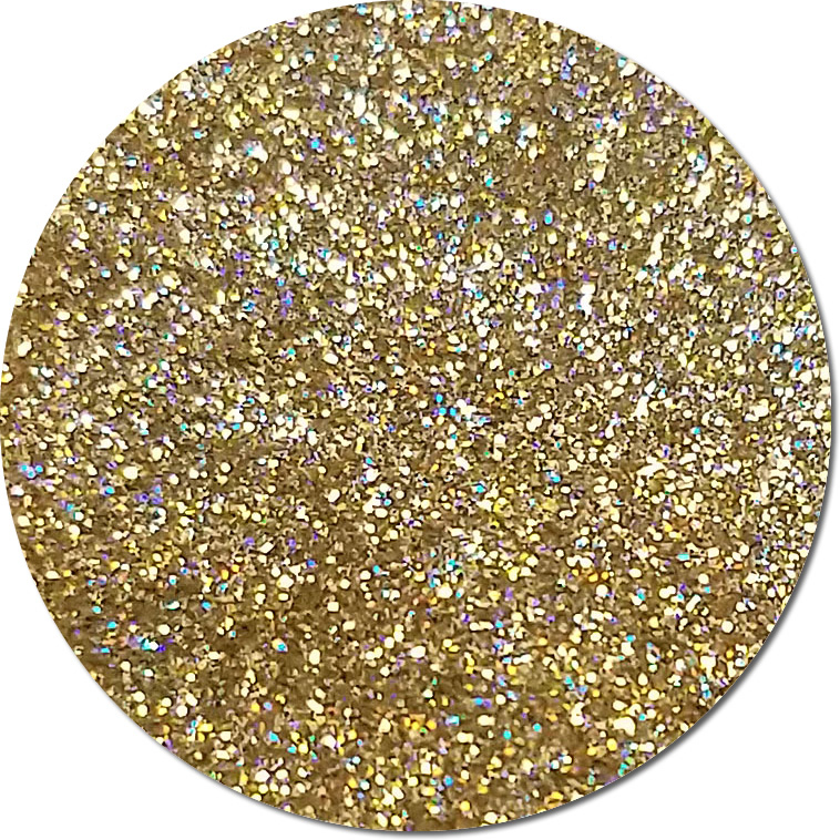 Heartstopper Gold :Ultra Fine Glitter Cosmetic Holographic (Mini)