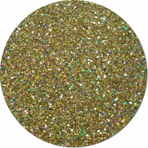 Golden Prism Hot Dots Craft Glitter- 3/4 oz Jar
