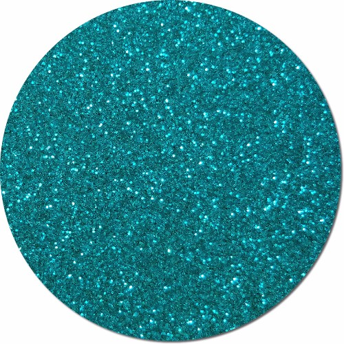 Jeweled Blue Craft Glitter (fine flake)- 3/4 oz Jar