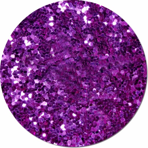 Purple Perfection Craft Glitter (Jumbo flake)- 4 oz. Jar
