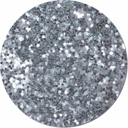 Silver Moonlight Craft Glitter (Jumbo flake)- 4 oz. Jar