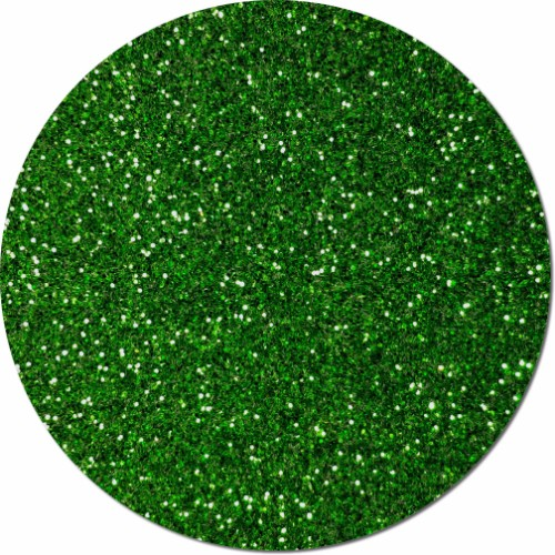 Kelly Green Dream Craft Glitter (fine flake)- 3/4 oz Jar